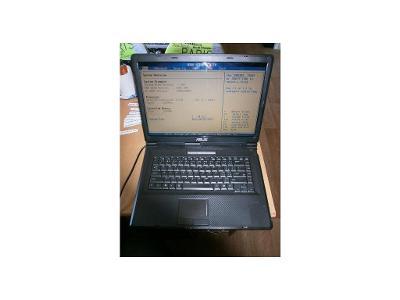 Notebook ASUS X58c