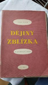 Obrázek  Josef Čapek: Dějiny zblízka. Praha 1949