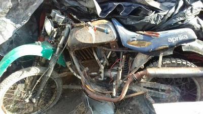 Honda MTX80,doplněna díly ČZ