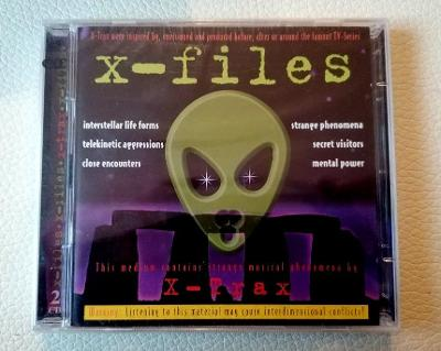 X-FILES - Music From The Motion Picture - 2 X CD NOVÉ FOLIE