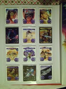 STAR WARS KARTICKY 1 - 48 obyčajné  plus 1 - 48 holografické S ALBUMOM