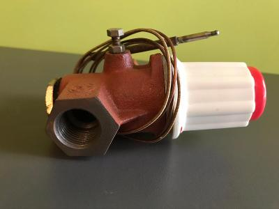 Bezpecnostni plynovy ventil ke kotly