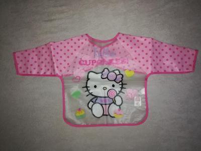Růžový bryndák s Hello Kitty - nepoužívaný