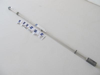 Garnýž CONE 200-340cm mosazná, nová, nepoužitá a nevybalená