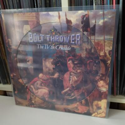 BOLT THROWER - The IVth Crusade .... PICTURE LP