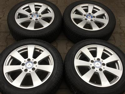 Alu kola 5x112 7J ET43 Mercedes-Benz W204 205/55 R16 Dunlop
