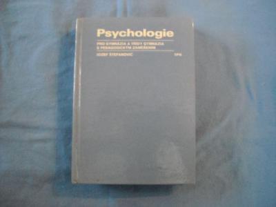 Psychologie pro gymnázia a třídy gymnázia s pedagogickým zaměřením