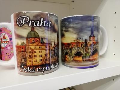 Hrnek Praha Karlův most