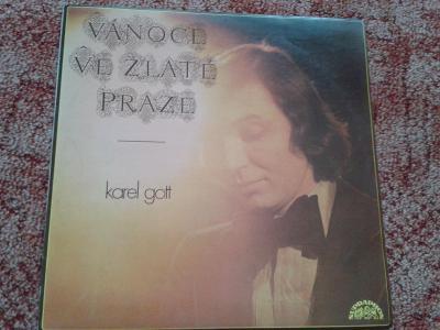 LP:  KAREL GOTT - VÁNOCE VE ZLATÉ PRAZE