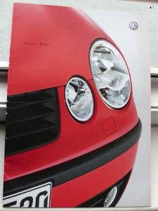 Volkswagen Polo IV  prospekt v čestině rok 2002