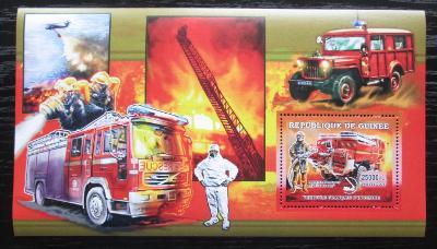 Guinea 2006 Francouzští hasiči DELUXE Mi# Block 1072 1880