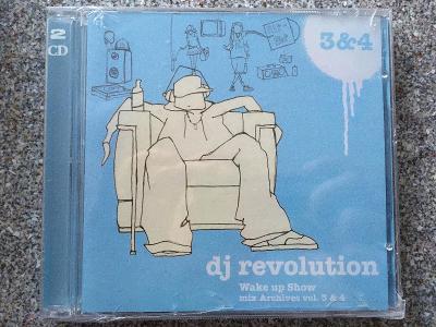 DJ Revolution - Wake Up Show Mix Archives Vol. 3 & 4 2CD