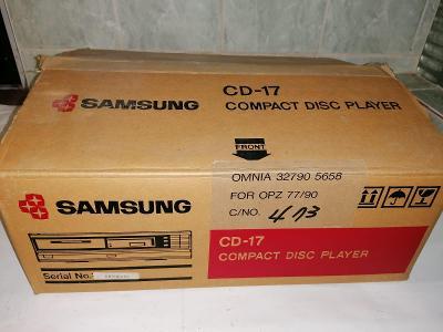 CD Player Samsung skoro nový zabalený