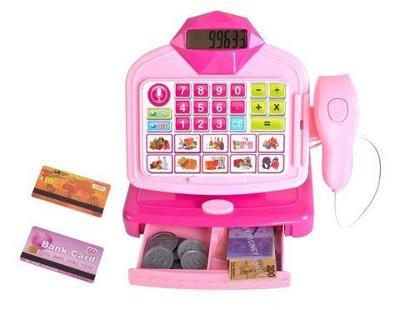 Dětská digitální pokladna, skener, čtečka, kalkulačka+ dárek