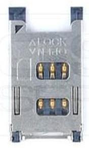 Čtečka SIM Nokia E50 N90 N91 5700