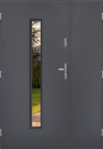 Venkovní dvoukřídlé vchodové dveře ARIZONA PLUS UNO