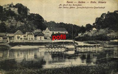 Bastei - Rathen - Sächs. Schweiz /291788/