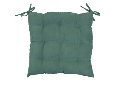 Zelený polštář na židli, 40x40 cm