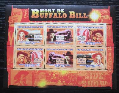 Guinea 2007 Buffalo Bill Mi# 5154-59 Kat 8€ 1881