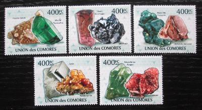 Komory 2011 Minerály Mi# 2929-33 Kat 10€ 1885