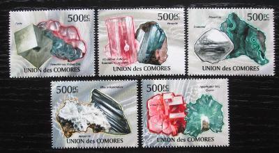 Komory 2011 Minerály Mi# 2944-48 Kat 13€ 1885