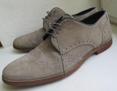Kožené boty zn. ASOS vel. 43/44