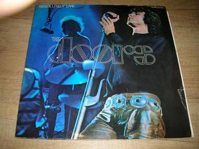 The Doors – Absolutely Live (1970) 2xLP ,TOP STAV!!!