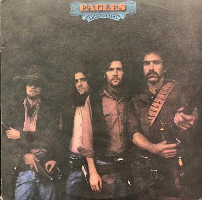 LP:EAGLES/USA press z roku 1975/ Desperado obal a LP:MINT=jako nové