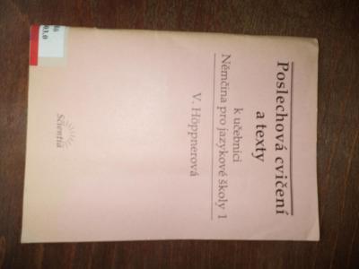 Poslechová cvičení a texty k učebnici Němčina pro jazykové školy 1 - V