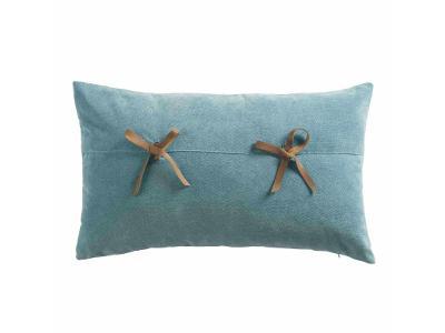 Povlak na polštář v modré barvě FANTASIA, 30x50 cm