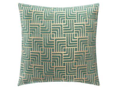 Zelený dekorativní polštář z polyestru CHENGEO, 40