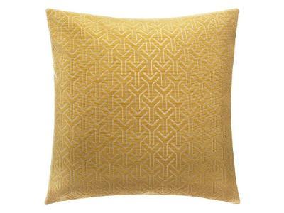 Žlutý polštář z polyesteru CHENGEO, 40x40 cm