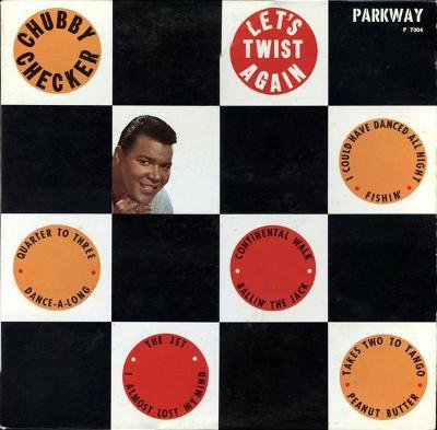 CHUBBY CHECKER - LET´S TWIST AGAIN LP US 1961