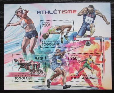 Togo 2012 Lehká atletika Mi# 4373-75 Kat 11€ 1880