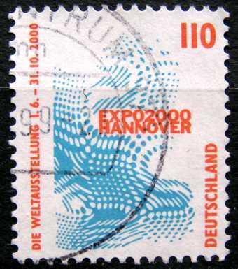 DEUTSCHLAND: MiNr.2009 EXPO 2000 110pf 1998