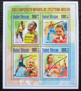 Guinea-Bissau 2013 MS v lehké atletice Mi# 6966-69 Kat 13€ 1882