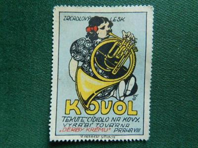 19** - Zálepka - Kovol - Praha VIII.