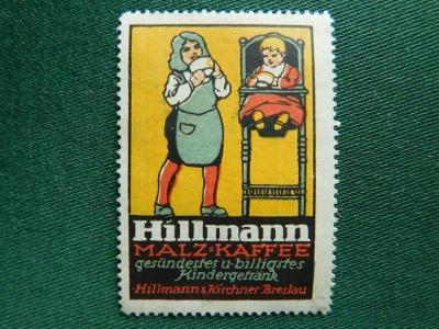 19** - Zálepka - Hillmann - Malz Kaffee - Breslau
