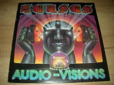 Kansas – Audio Visions (1980) 1.Press , EX+