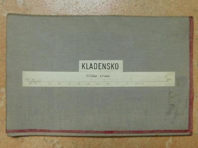 Vojenská Mapa - Kladensko - Kladno