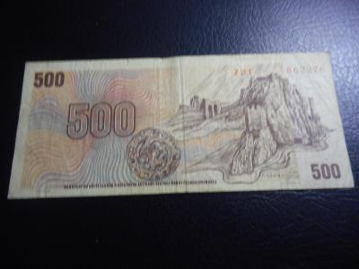 500 korun 1973 serie Z 31