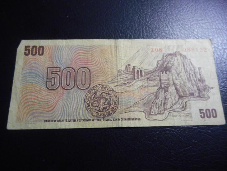 500 korun 1973 serie Z 08 - Bankovky