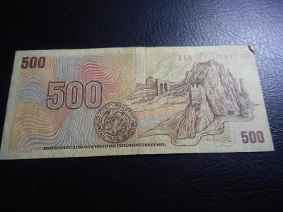 500 korun 1973 serie Z 15