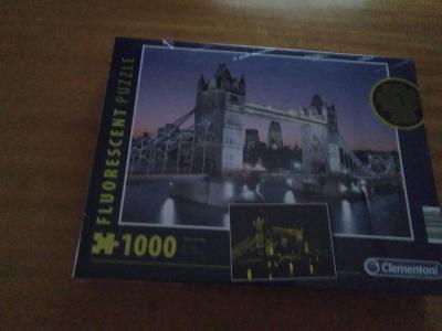 Puzzle-Tower Bridge  1000 ks