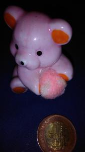 Figurka Medvídek - porcelán