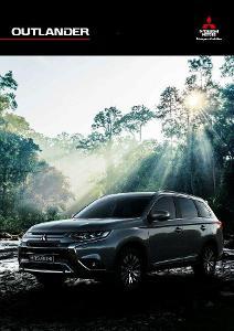 Mitsubishi Outlander prospekt model 2020 11 / 2019 PL