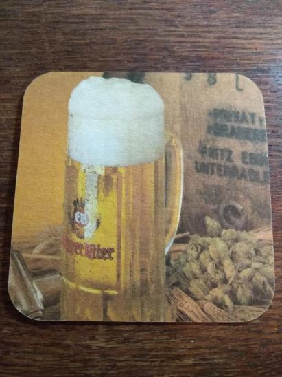 Staré pivní tácky - EGGER, Rakousko - Nápojový průmysl