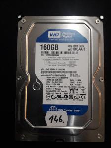 Harddisk HDD Western Digital WD1600AAJS 00L7A0 160Gb SATA (146.)