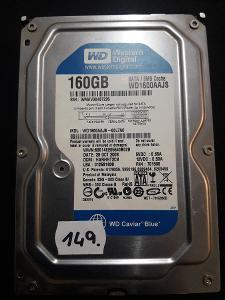 Harddisk HDD Western Digital WD1600AAJS 00L7A0 160Gb SATA (149.)