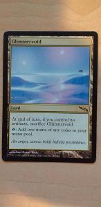 MTG: Magic the gathering - Glimmervoid (Mirrodin)